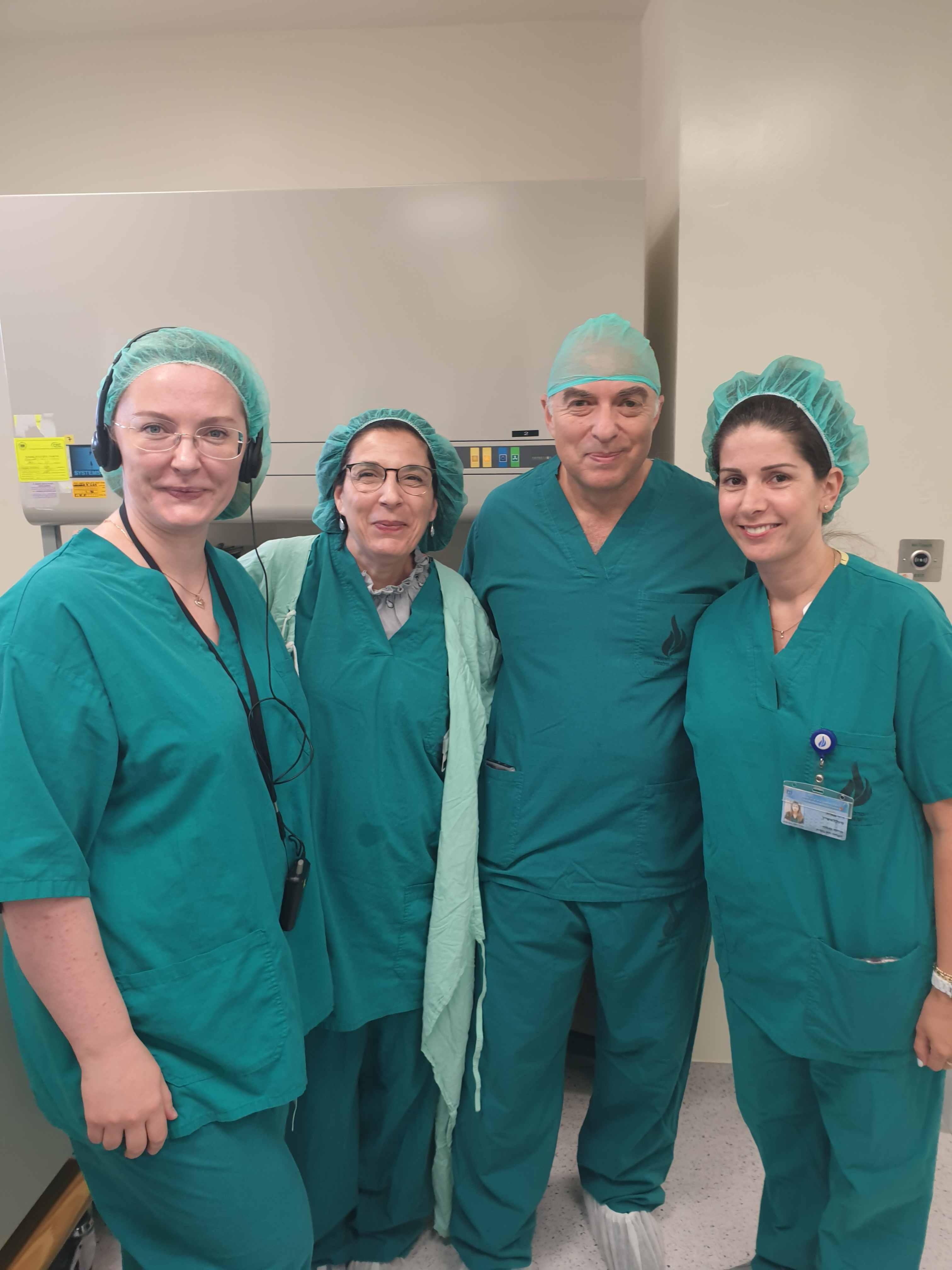 участие в научно-практическом визите группы специалистов в зарубежную клинику ЭКО в Израиле Wolfson Hospital.